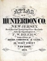 Title Page, Hunterdon County 1873